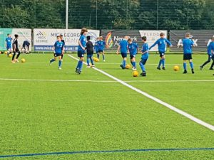 Peterborough United FC's U12 Academy team in England Try Outs