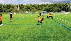 Sigma FC Training Session