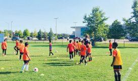 Brampton Soccer Drills